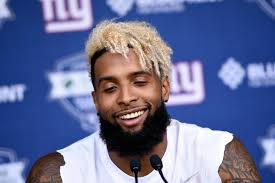 odell beckham jr haircut name giant returns odell beckham jr hits practice field for minic