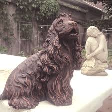 find more cocker spaniel garden statue for sale at up to 90