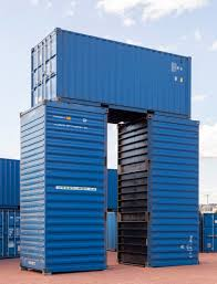 bureau a recreates stonehenge shipping containers