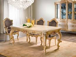 Classic Dining Room Furniture by Classic Dining Table Crystal Rectangular For Hotels Dafne