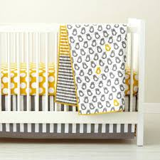 Blue And Yellow Crib Bedding Grey And Blue Chevron Crib Bedding