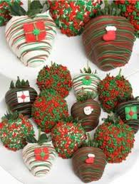 Snowberries White Chocolate Dipped Strawberries Chocolate Dipped Strawberry Ornament Available At Surlatable 3