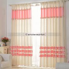 White With Pink Polka Dot Curtains Pink And White Polka Dot Curtains Are Simple And Beautiful