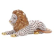 lion figurine lion figurine chocolate fishnet
