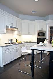 kitchen vintage style kitchen design idea with light blue