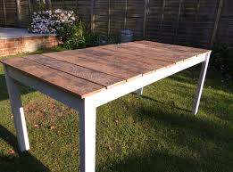 reclaimed wood outdoor table outstanding lovely wood outdoor dining table with ana white outdoor