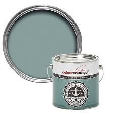 colourcourage green submarine matt emulsion paint 2 5l spare