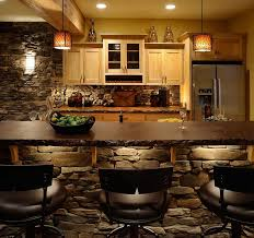 Wet Bar Cabinet Ideas Bloombety Wet Bar Designs With Stone Wall Modern Wet Bar Designs