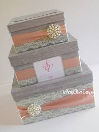 wedding gift holder wedding gift box bling card box blush pink wedding box