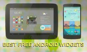 free for android tablet 20 best android widgets free to on tablets phones