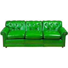 Green Leather Sectional Sofa Marvellous Green Leather Sofa Ideas Gradfly Co