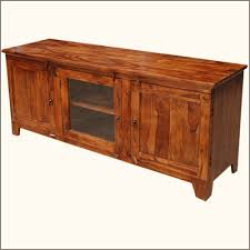 Tv Media Cabinets With Doors Oklahoma Farmhouse 3 Compartment Solid Wood Rustic Tv Media Stand