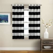 Discounted Curtains Black U0026 White Curtains Seasonal Sale U2013 Ease Bedding With Style