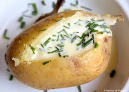 pomme en robe de chambre pommes de terre au four
