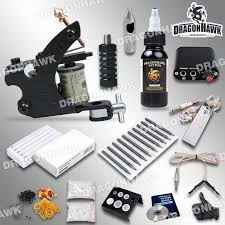 tattoo kit without machine wholesale complete beginner tattoo kit machine guns inks needles