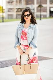 transitioning into fall with floral maxi dress baily lamb