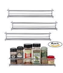 carousel spice racks for kitchen cabinets shop amazon com spice racks