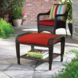 newport collection wicker patio ottoman canadian tire