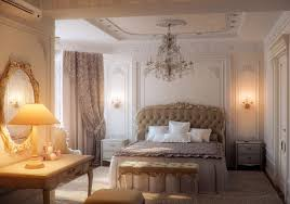 bedroom classic bedroom design with cream bed frame designed with