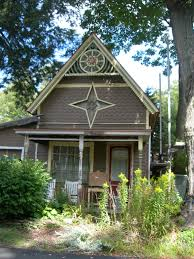 one of the quaint homes lily dale pinterest cabin cottage