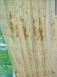 Kitchen Window Curtain Panels by Furniture Gold Sheer Curtains Modern Sheer Curtains Kitchen