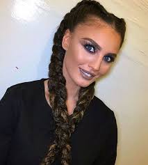 2 braids in front hair down hairstyle long natural hair 30 elegant french braid hairstyles