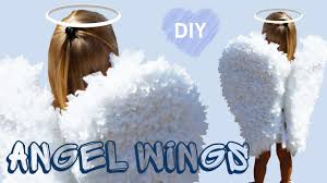 angel wings halloween diy angel wings paper craft angel costume for the holiday
