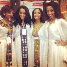 The Ancient Hairstyles And Dresses Worn By Habesha Women Of