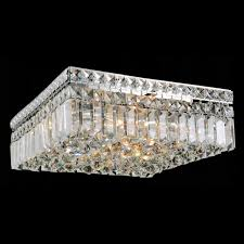 Ceiling Mount Chandelier Light Fixture Brizzo Lighting Stores 14 Bossolo Transitional Square