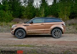 range rover coupe 2014 2014 range rover evoque si4 review video performancedrive