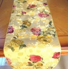 luxury damask table runner gold damask table runner modern continental flowers coffee