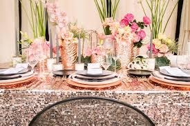Black Gold Wedding Decorations Modern Glam Black U0026 Rose Gold Wedding Ideas Every Last Detail