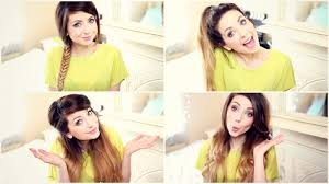 on the go hairstyles zoella my go to every day hairstyles