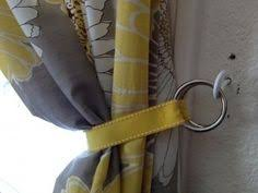 Small Curtain Tie Back Hooks Make It 5 Diy Curtain Tie Backs Diy Curtains Curtain Ties And