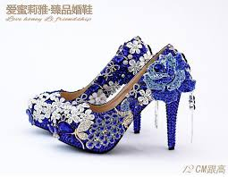 wedding shoes navy blue navy blue flowers tassel diamond wedding shoes high with