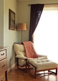 enchanting blue velvet reading chair feat ottoman also white kids