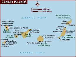 map of the islands map of canary islands