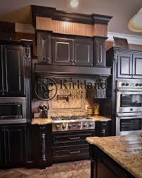distressed black kitchen cabinets kitchen decoration