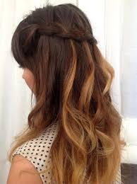 Frisuren Lange Haare Offen Locken by Trendfrisur Wasserfallzopf At