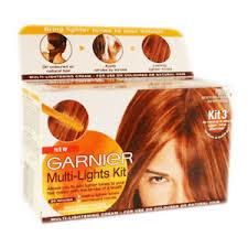 garnier multi lights highlight kit hair dye copper auburn