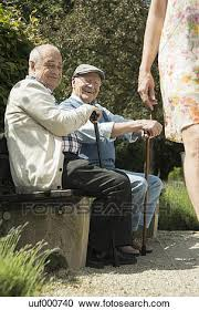 Bench Photography Stock Photography Of Two Old Men Sitting On Park Bench Watching