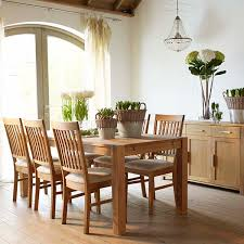 oiled oak dining table the hannover oak dining room table and 6 leather chairs for only 669