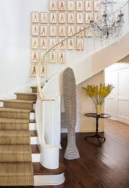 los angeles contemporary stair runners staircase transitional with