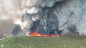 Wildfire Canada Today by Canadian Wildfires Smoke Out Usa 432 06 03 15 Youtube