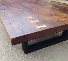 yellow wood coffee table reclaimed southern yellow pine coffee table the grain