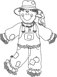 good rainbow fish printables colouring pages 15 cute scarecrow