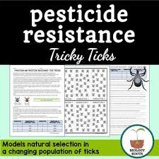 evolution pesticide resistance natural selection by biology roots