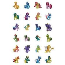 My Little Pony Blind Packs My Little Pony Blind Bags Figures Wave 10 Box Toy In The Uae