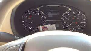 nissan altima 2015 dashboard reset oil maintenance light 2011 to 2013 nissan altima youtube