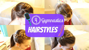 gymnastics picture hair style gymnastics hairstyles youtube